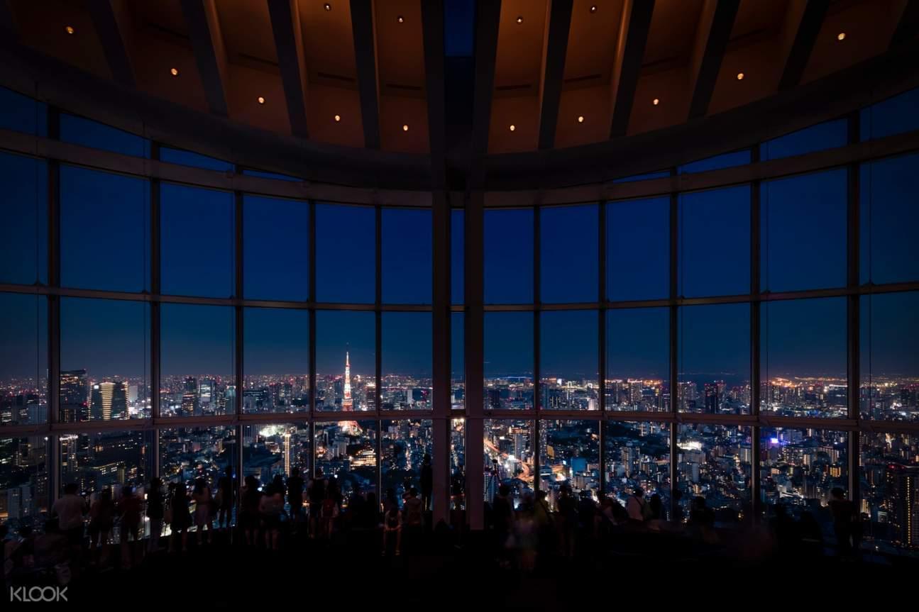 tokyo city observation deck roppongi hills